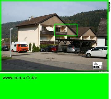 geniale 2,5 Zimmer Ferienwohnung mit Balkon, Garage, 75399 Unterreichenbach, Dachgeschosswohnung
